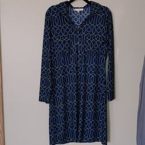 Jude Connally long sleeve dress size M